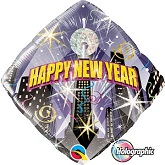 "18"" Holographic New Year Countdown Balloon"