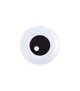 "5"" Friendly Eyeball TopPrint Balloon White"