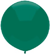 "17"" Outdoor Display Balloons (72 Count) Forest Green"