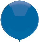 "17"" Outdoor Display Balloons (72 Count) Midnight Blue"