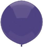 "17"" Outdoor Display Balloons (72 Count) Regal Purple"