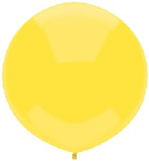 "17"" Outdoor Display Balloons (72 Count) Sun Yellow"