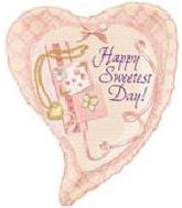 """26"""" Sweetest Day Locket Heart 5B84"""