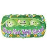 "36"" Peas Get Well Soon B178"