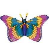 """36"""" Flitters Colorful Butterfly B210"""