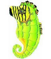 "26"" Green Seahorse SuperShape"