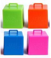 65 Gram Cube Weights Neon Asst.