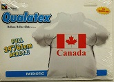 "36"" Patriotic Canada T-Shirt Shape Mylar Balloon"