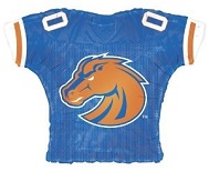 "23"" Boise State Broncos Jersey Balloon"