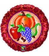 """18"""" Harvest Fruits Balloon"""