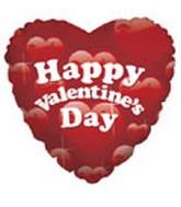 """18"""" Happy Valentine's Day Paradise"""