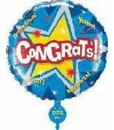 "31"" Congrats Singing Balloon"