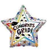 """31"""" Congrats Grad Flying Hats"""