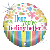 """36"""" Feeling Better Flowers"""