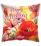 """18"""" Happy Mother's Day Orange Balloon"""