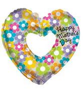"""36"""" Happy Mother'S Day Groovy Flowers"""