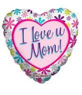 "18"" I Love You Mom Daisies"