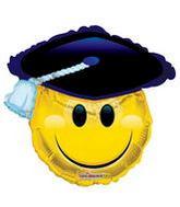 """28"""" Smileys Gard Shape Balloon"""