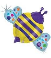 """36"""" Holographic Bumblebee Balloon"""