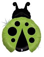 """27"""" Holograhic Little Ladybug Green"""