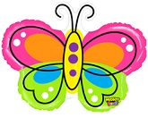 """28"""" Beautiful Butterfly Balloon Mighty Bright"""