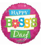 """18"""" Boss's Day Funky Flowers"""