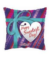 "18"" Sweetest Day Gift Box Balloon"