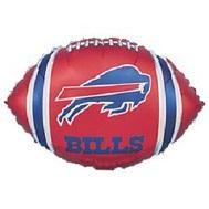 "9"" Airfill Only NFL Balloon Buffalo Bills"