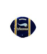 """9""""  Airfill Minnesota Vikings Football Purple Balloon"""