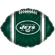 "9"" Airfill Only NFL Balloon New York Jets"