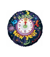 """36""""  Time To Celebrate New Year Balloon"""