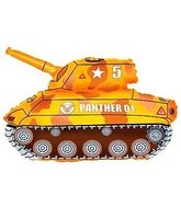 "28"" Orange/Yellow Tank"