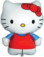 "26"" Jumbo Hello Kitty Balloon Red"