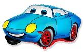 """20"""" Racing Car Blue"""