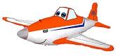 "21"" Race Plane Balloon"