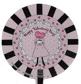 "9"" Airfill Happy Valentine's Day Be Mine Doily"