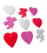 8-10 Gram Valentine's Day Shape 100 Count
