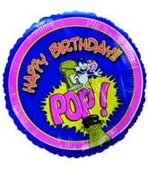 "9""  Airfill Happy Birthday POP Champagne Bottle"