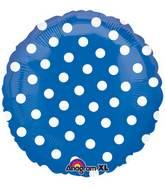 "18"" Polka Dot Blue"
