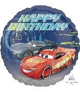 """18"""" Cars 3 Happy Birthday Balloon"""