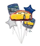 Bouquet Balloon Cars 3 Cruz Jackson Balloon