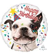 "18"" Happy Birthday Dog Balloon"