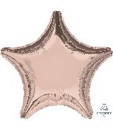 "18"" Rose Gold Decorator Balloon Star"