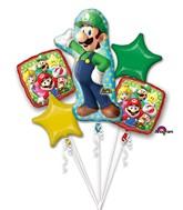 Bouquet Luigi Balloon