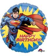 """18"""" Superman HBD Balloon"""