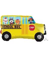 """30"""" Jumbo School Bus Balloon"""
