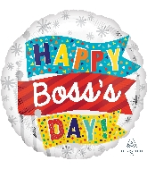 """18"""" Boss's Day Flags Balloon"""