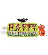 """36"""" Jumbo Halloween Banner Balloon"""