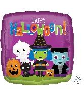 "18"" Halloween Friends Balloon"