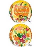"""16"""" Jumbo Thanksgiving Harvest Balloon"""